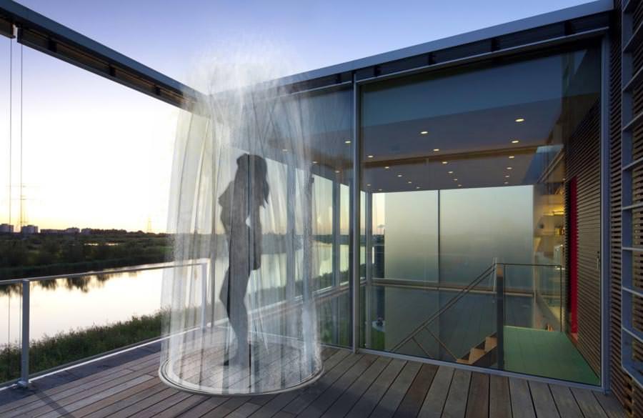 my open shower space hansgrohe preis 2013 an internationale nachwuchsdesigner. Black Bedroom Furniture Sets. Home Design Ideas