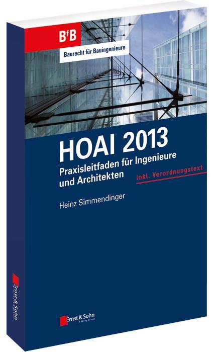 Architekt Hoai hoai 2013 dicker praxisleitfaden für ingenieure und architekten