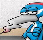"""""""Blauer Specht"""" Knauf """"Warm-Wand""""-Kampagne"""