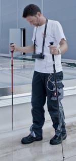 Dichtigkeitsprüfung erfolgt durch Begehung der befeuchteten Dachfläche.