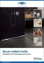 """Broschüre """"Blanke AQUA Profile"""""""