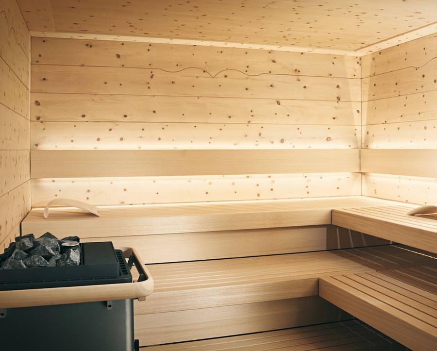 chalet neue sauna aus zirbenholz zwischen tradition und moderne. Black Bedroom Furniture Sets. Home Design Ideas