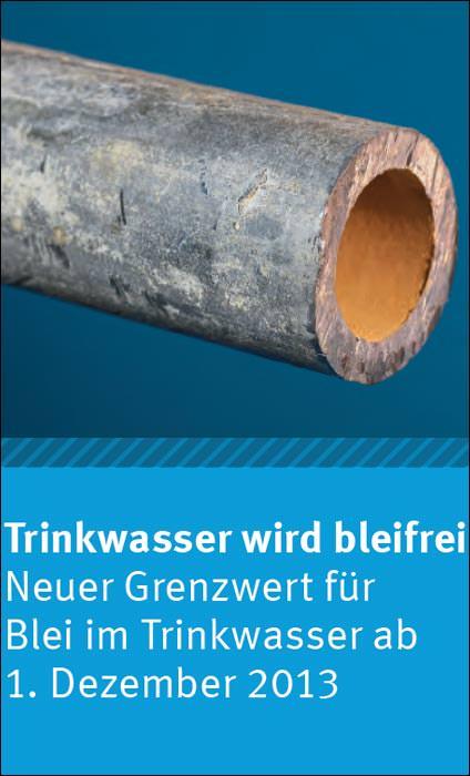 neuer grenzwert f r blei im trinkwasser informationspflicht f r vermieter bleifreies trinkwasser. Black Bedroom Furniture Sets. Home Design Ideas