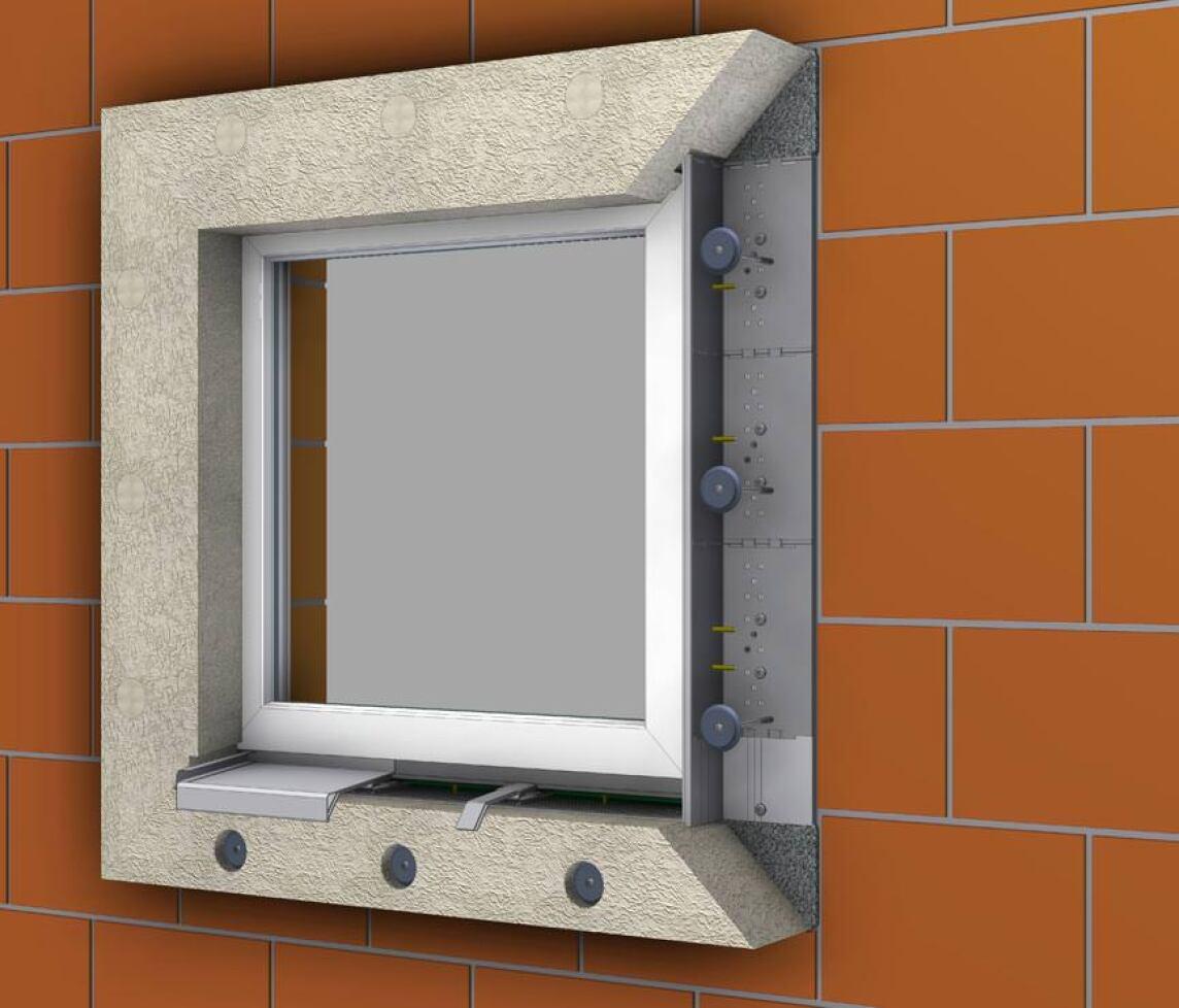 sicherer halt f r fenster und t relemente in der d mmebene element montage system foppe ems si. Black Bedroom Furniture Sets. Home Design Ideas