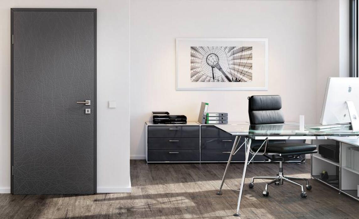 """Innentüren grau  Style""""-Türen von Westag & Getalit mit geprägter Oberflächenstruktur"""