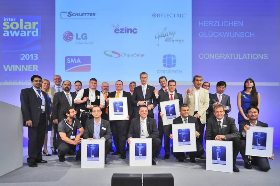 Intersolar-Award-Gewinner