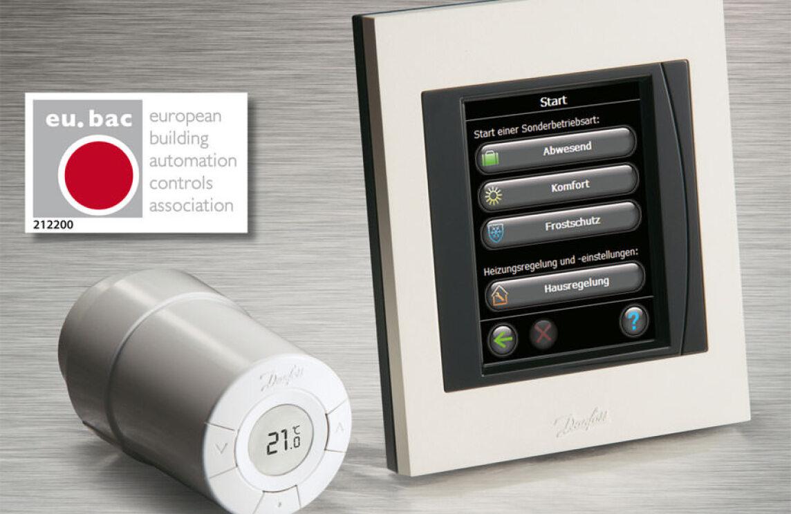 Elektronischer Thermostat Living Connect Von Danfoss Erhalt Eu Bac