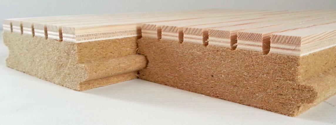 Holzvertäfelung neue holzvertäfelung in moderner optik verspricht 70 schallabsorption