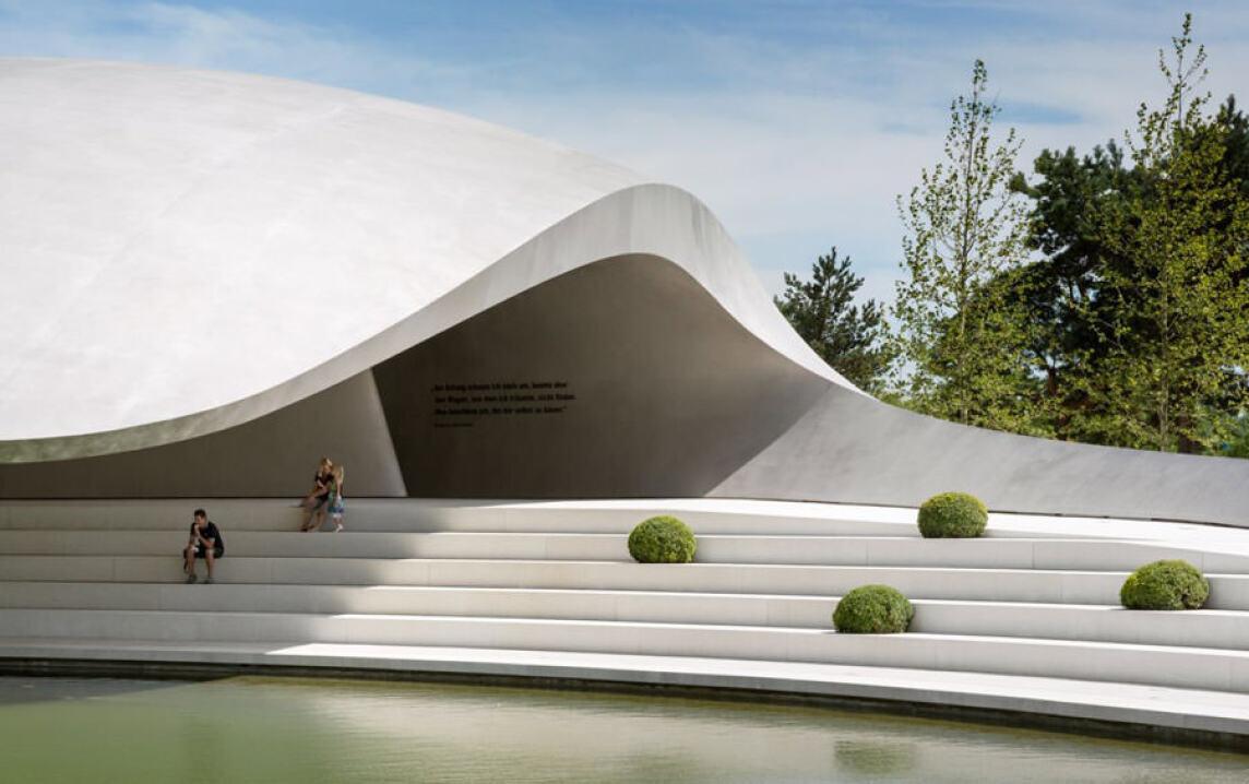 Porsche Pavillon in der Autostadt Wolfsburg
