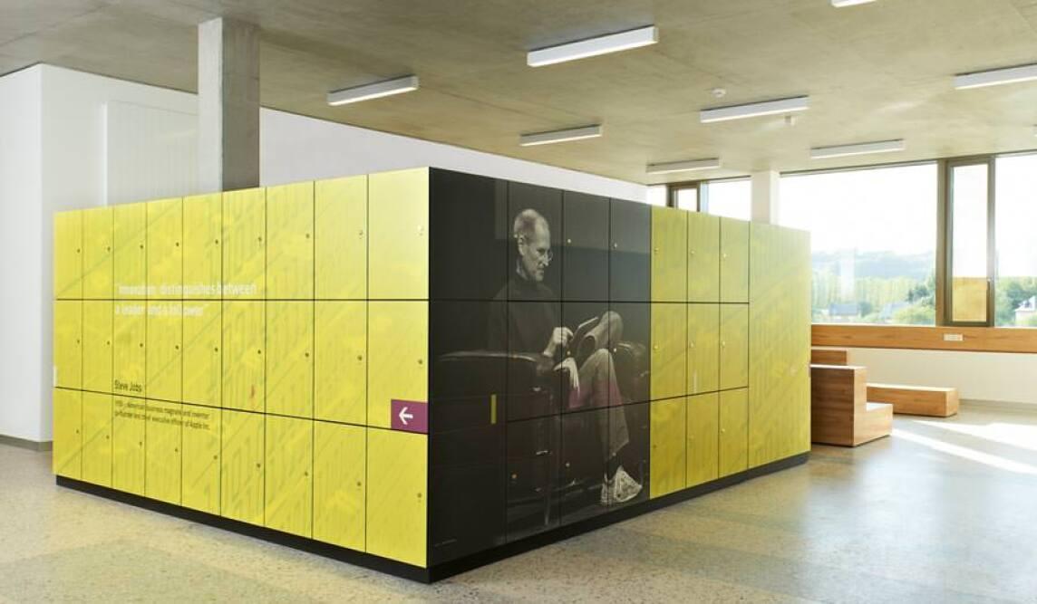 Moderne Garderobenschränke inspirierende garderobenschränke für ein technisches gymnasium