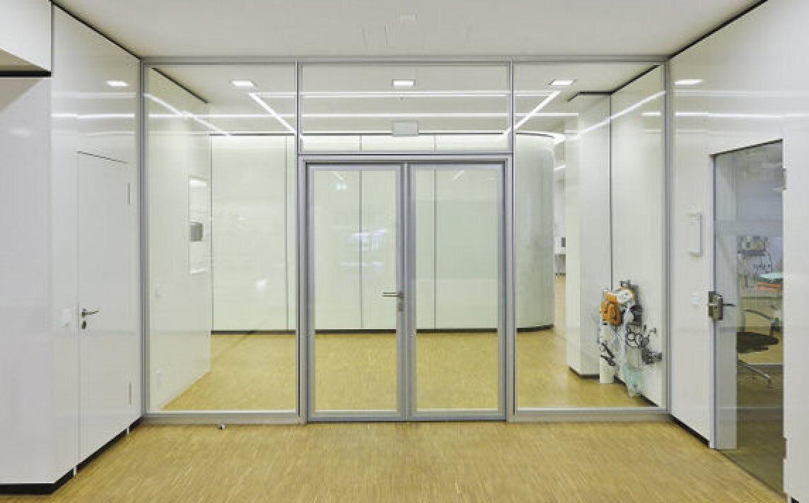 neue glas aluminium schallschutzt r mit optional