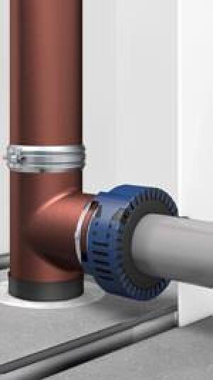 uraflam Konfix Pro von Doyma für für Mischinstallationen (Fallrohr aus Guss, Anschlussleitung aus Kunststoff)