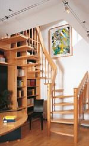 trend bei massivholztreppen kologische finishbehandlung mit len oder wachsen. Black Bedroom Furniture Sets. Home Design Ideas