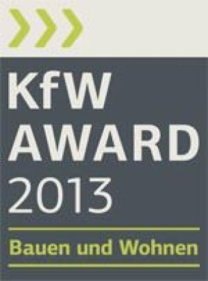 KfW-Award Bauen und Wohnen 2013