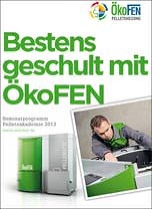 Seminarprogramm ÖkoFEN Pelletsakademie 2013