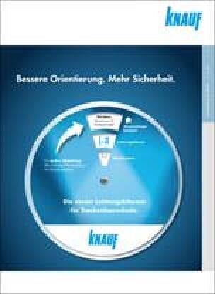 """Knauf Broschüre """"Bessere Orientierung. Mehr Sicherheit."""""""