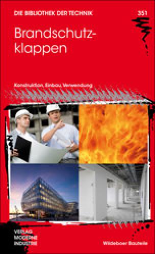 Fachbuch über Brandschutzklappen