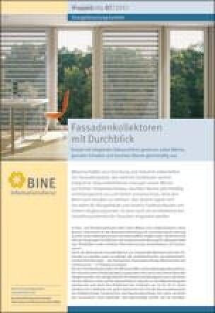 "BINE-Projektinfo ""Fassadenkollektoren mit Durchblick"" (07/2013)"