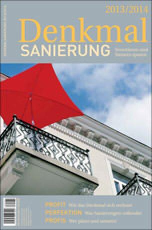 """Jahresmagazin """"Denkmalsanierung 2013/2014"""""""