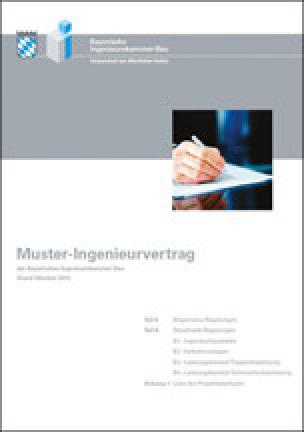 Musteringenieurverträge der Bayerischen Ingenieurekammer-Bau nach HOAI 2013