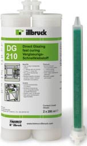 illbruck DG210 Verglasungs-Schnellklebstoff