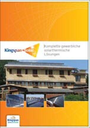 """Technisches Handbuch von Kingspan-Solar: """"Komplette gewerbliche solarthermische Lösungen"""""""