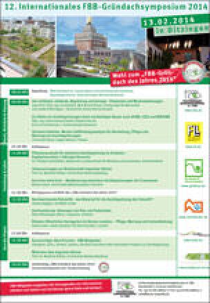 12. FBB-Gründachsymposium 2014