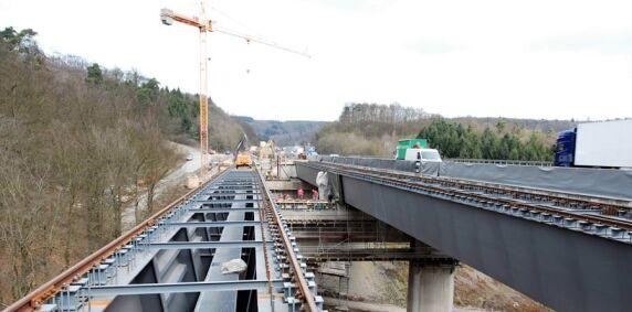Sanierung der Brücke Windelbach mit Stahlverbund-Überbau