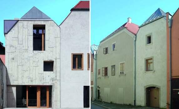 Haus über der Gasse, Passau