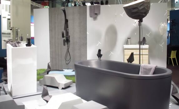 """Bathroom Bubble"" in der Pop up my Bathroom-Ausstellung während der ISH in Halle 3.0 (Foto: AO)"