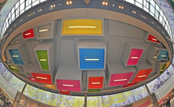 "A10 Center in Wildau - Kategorie ""Shopbeleuchtung"", Foto: ECE"