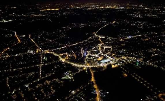 Lichtplanung für Castrop Rauxel - besondere Würdigung der Jury, Foto: FH Dortmund