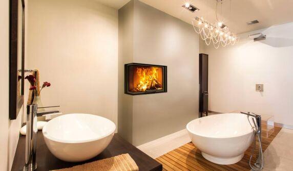 schmid heizkamin mit reduzierter einbautiefe und nennw rmeleistung. Black Bedroom Furniture Sets. Home Design Ideas