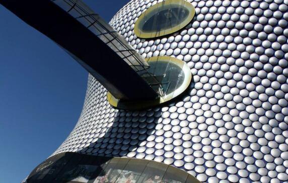 Selfridges Building in Birmingham von Future Systems (© Neil Nickolds)