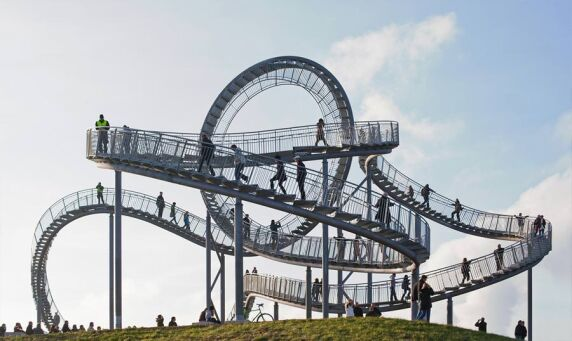 Tiger and Turtle - Magic Mountain © Heike Mutter und Ulrich Genth