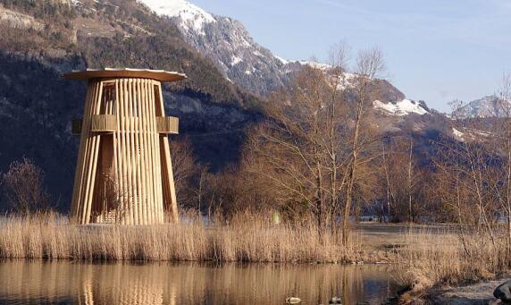 Reussdeltaturm © Gion A. Caminada