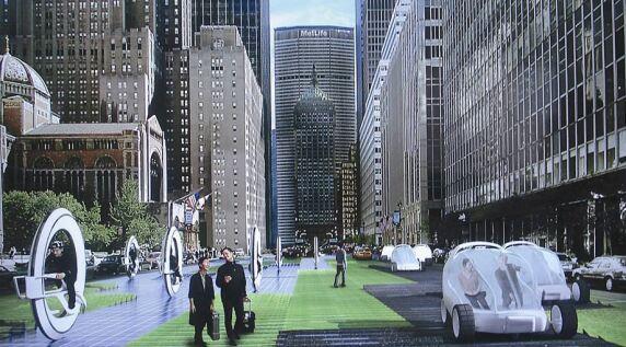Vision für die Region Boston/Washington im Jahr 2030, S. 161 © Höweler + Yoon Architecture, Boston