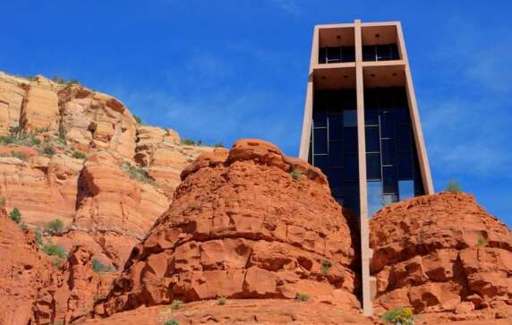 Chapel of the Holy Cross (Sedona, USA) von Anshen + Allen © Paul Vo