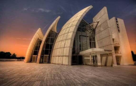 Jubilee Church (Rom, Italien) von Richard Meier & Partners © Giuseppe Moscato