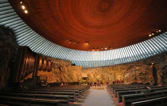 Temppeliaukio Church (Helsinki, Finnland) von Timo & Tuomo Suomalainen © Jorge Láscar
