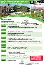 FBB-Symposium Bauwerksbegrünung
