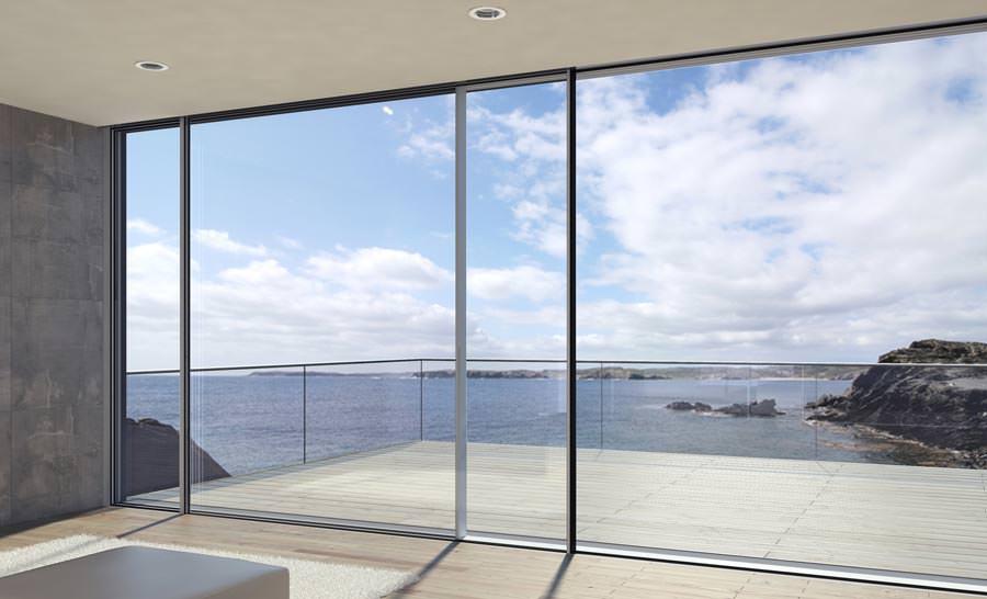 super insulated schueco schiebesystem im panorama design