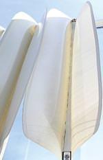 Bionische Fassadenverschattung Flectofin