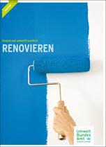 """UBA-Broschüre: """"Gesund und umweltfreundlich renovieren"""""""