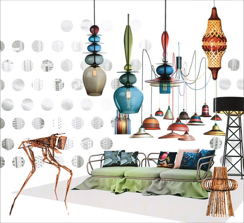 wohntrends 2014 und 2015 im trendforum der light building. Black Bedroom Furniture Sets. Home Design Ideas