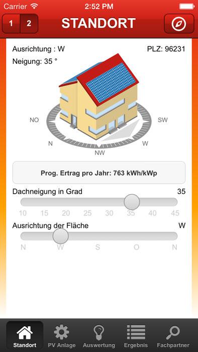 ibc solar app stromrechner zeigt potential von pv