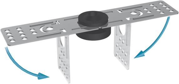 knauf direktschwingabh nger f r holzbalkendecken f r schlanken schallschutz. Black Bedroom Furniture Sets. Home Design Ideas