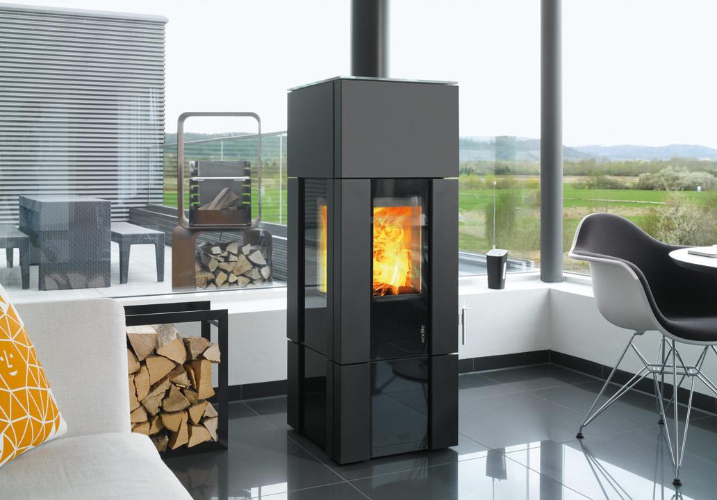wodtke kaminofen new look mit hiclean filter und w rmespeicher modul. Black Bedroom Furniture Sets. Home Design Ideas