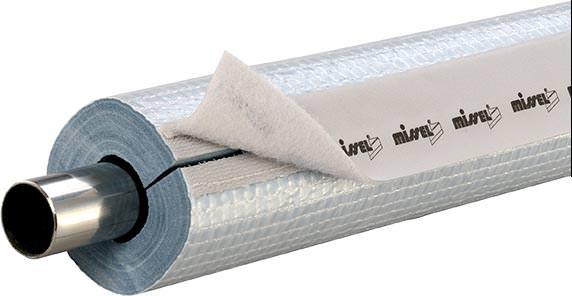 Rohrleitungsdämmung Misselon-Robust mit Schnellverschluss