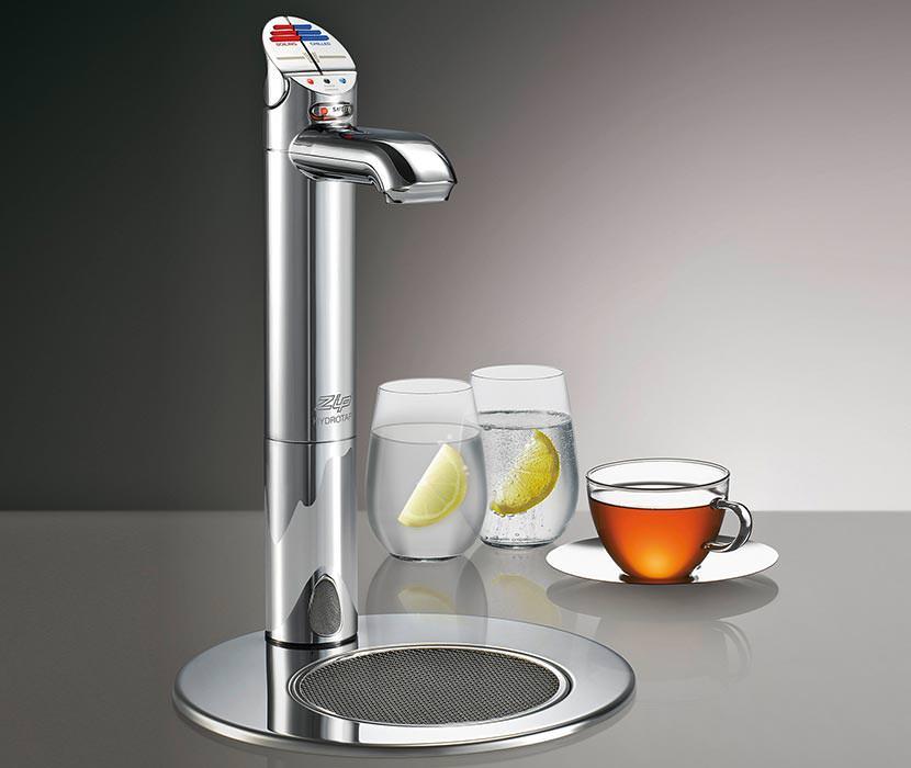 aufbereitetes trinkwasser direkt aus der armatur kochend gek hlt prickelnd. Black Bedroom Furniture Sets. Home Design Ideas